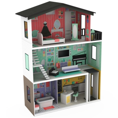 Giant Doll House Trendy Mansion Xl